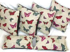 "Complete Cushion And Cover Sets 4 X 22"" Cushions Plus 2 Bolster Cushions"