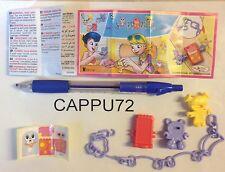 BRACCIALE  LILLA+CARTINA FF114 adesivo con codice- sorpresa dolls&fashion