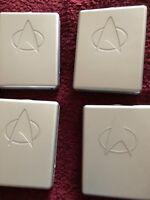 Star Trek the next generation season 1 2 3 and 6  moulded plastic  dvd  box sets