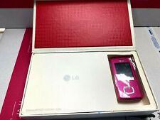 LG Chocolate KG800 Pink Rare Collectors Phone