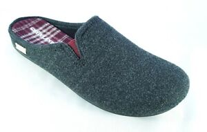 Grunland ciabatte pantofole uomo ORMI CI2212 Antracite bordò grigio 40