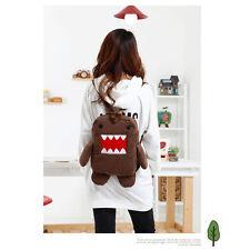 Domo Kun Plush Soft Cartoon Cute Backpack Shoulder Bag School Rucksack