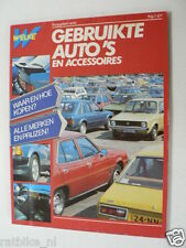 1983 GEBRUIKTE AUTO'S EN ACCESSOIRES,SAAB,SKODA,SUBARU,SUZUKI,TALBOT,TOYOTA,VW,V