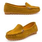 Donna Mocassini scarpe stile Barca Casual, Slip-on Antiscivolo da basse UK 2.5-6