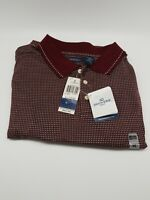 Dockers Golf Palmer 2 Burgundy Polo Shirt Size XL New With Tags
