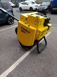 ***NOW SOLD***2015 ROLLER TEREX TARMAC VIBRATING PEDESTRIAN ROLLER AND TRAILER