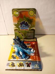 Personaggio TERASTEGOSAURUS N° 21 Dinofroz Combact 3ª Serie con Card e foglietto