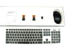 DELL KM717 Premier Wireless Cordless Keyboard & WM527 Mouse Set Kit UK Layout R