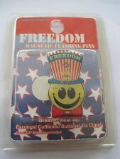 Freedom Magnetic Flashing Pin U.S. Flag Hat