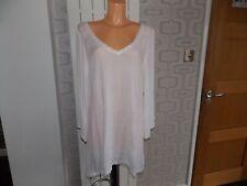 Akasa Embroidered Back Beach Kimono White dress ASOS Size 14