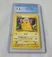 2000 Pokemon PIKACHU Base Set 2 87/130 CGC 7.5 NM+