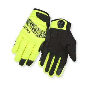 Giro Cycling Gloves Glove Wi Candela Yellow Windproof Water Resistant Warming