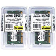 512MB KIT 2 x 256MB Toshiba Satellite 1800-504 1800-514 1800-554S Ram Memory