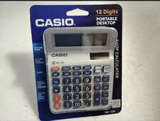 Casio Mc-12M Change Calculator Desktop Large Screen Solar Battery Backup Mc 12M