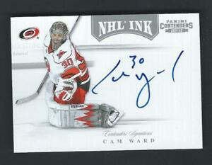 2011-12 Panini Contenders NHL Ink on-card Rookie Autograph - YOU PICK - RC AUTO