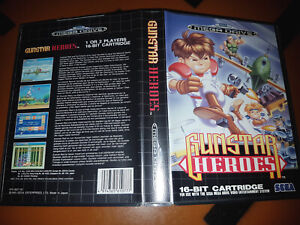 ## SEGA Mega Drive - Gunstar Heroes - komplett und fast wie NEU ##