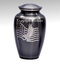American Honor and Pride Funeral Cremation Urn -Military urn, American Eagle Urn