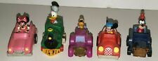 DISNEY MCDONALDS HAPPY MEAL TOY VEHICLES MICKEY MOUSE BIRTHDAYLAND 1989 CARS (5)
