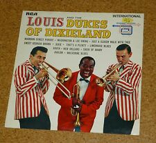 LP Jazz Armstrong Louis and the Dukes of Dixieland RCA Camden INTS 1146