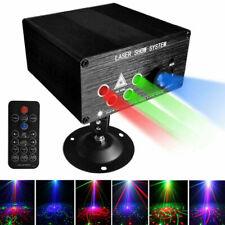 120/160Pattern RGB Laser Light Disco DJ Projector LED Stage Effect Lighting Lamp