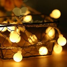 Holiday Light Chain Ball LED String Lighting 3M 6M USB Lamp Bulb Light String