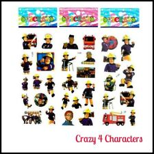 Fireman Sam Sticker Sheets Buy 5 Sheets Get 5 Sheets Free Party Favour Loot Bag