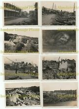 OLD CHINESE PHOTOGRAPHS RUINS / DESTRUCTION BATTLE OF SHANGHAI CHINA 1937 ?