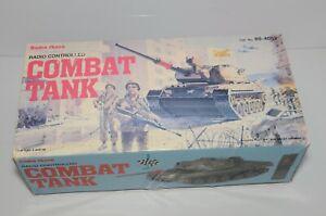 Vintage Radio Shack Radio Controlled Combat Tank In Box 60-4052 Year 1990