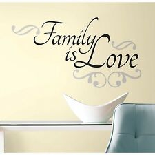 Family is Love Wall Decal