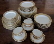 1906-1920 G. Borgfeldt Coronet Limoges Service for Eight - 54 Pieces Total