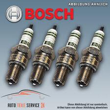 4x Original Bosch Zündkerzensatz Zündkerze 4-Zylinder Audi Opel Saab VW 2.0 2.4