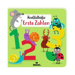 MOSES Krabbelkäfer Buch - Erste Zahlen Bilderbuch Kinderbuch Junge Mädchen