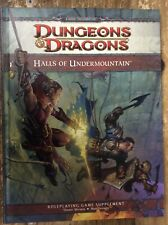 Halls Of Undermointain Dungeons & Dragons 4th Edition Wizards New