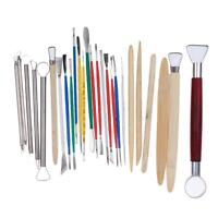 26PCS Clay Sculpting Tools Pottery Carving Modeling Tool Set Craft Supplies