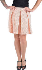 Cute retro polka dots Fifties puntos skirt/Rock-Apricot Pink rockabilly