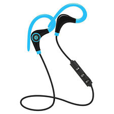 Universal 4.1 Bluetooth Wireless Stereo Earphone Earbuds Sport Headphone Headset Blue