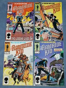 """"""" THE RAWHIDE KID """" $ 1-4, LIMITED SERIES ,MARVEL COMICS (1985) NMT, TRIMPE ART"""