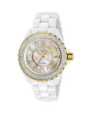 New Swiss Legend Karamica SL20051 WWWGR Women's Mother of Pearl & Diamond Watch