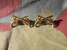 Spille ufficiale Polizia Militare US, WW2 Army Military Police collar insignia