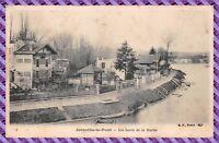 Carte Postale- joinville le pont les bords de la marne