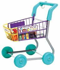 Shopping Cart Trolley Toy Grocery Includes Play Food Wheels Kid Play Activities