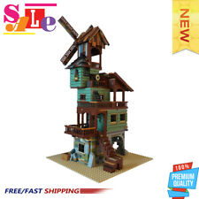 MOC-24737 Old Mill by the Sea Building Blocks 1762 Pcs Good Quality Bricks Toys