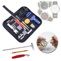 147pcs Watchmaker Watch Link Pin Remover Case Opener Repair Tool Kit Set