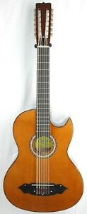 Lucida LG-BS1-E Mexican Bajo Sexto 12-St Acoustic-Electric Guitar  BLEM #R8586