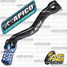 Apico Black Blue Gear Pedal Lever Shifter For Yamaha YZ 85 2009 Motocross Enduro