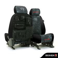 Skanda Kryptek Typhon Camo Neosupreme Tactical Custom Seat Covers for GMC Canyon