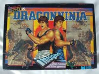 BAD DUDES VS DRAGON NINJA COMMODORE AMIGA DATA EAST RARE RETRO VINTAGE 1989