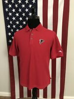Tommy Bahama Atlanta Falcons Polo Shirt men's MEDIUM marlin logo red nfl 3c361