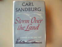 STORM OVER THE LAND by CARL SANDBURG a profile of the Civil War