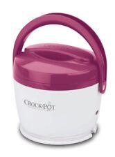 Travel Mini Crock Pot Dishwasher Safe Warm & Heat Food Storage